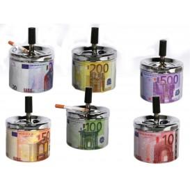 Cendrier poussoir Euros