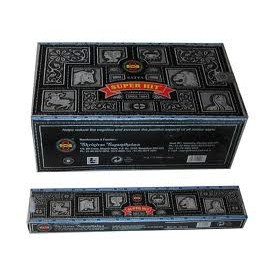 12 x incense Nag Champa Super Hit 15 g (i.e. 180 g)