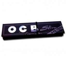 OCB Slim Premium + πακέτο χαρτόνι