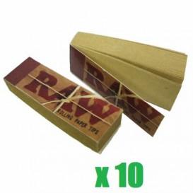10 Paquets de 50 filtres RAW Tips