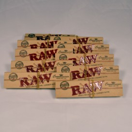 10 paquetes de Raw Slim + Filtros Box