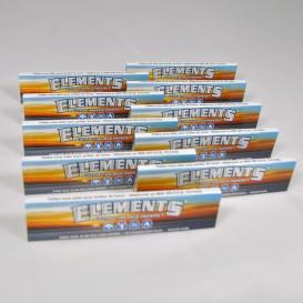 10 pakken van bladrol Elements Slim