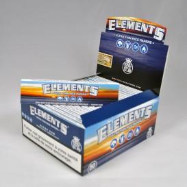 50 pacchetti di foglia di roll Elements Slim