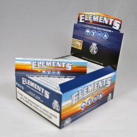 50 packs leaves Elements Slim (1 box)