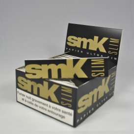 50 paquets feuilles Smoking SMK Slim