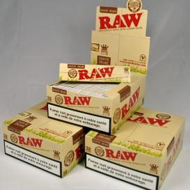 150 paquets Raw Organic Slim