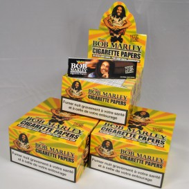 150 paquets de feuilles à rouler Bob Marley Slim