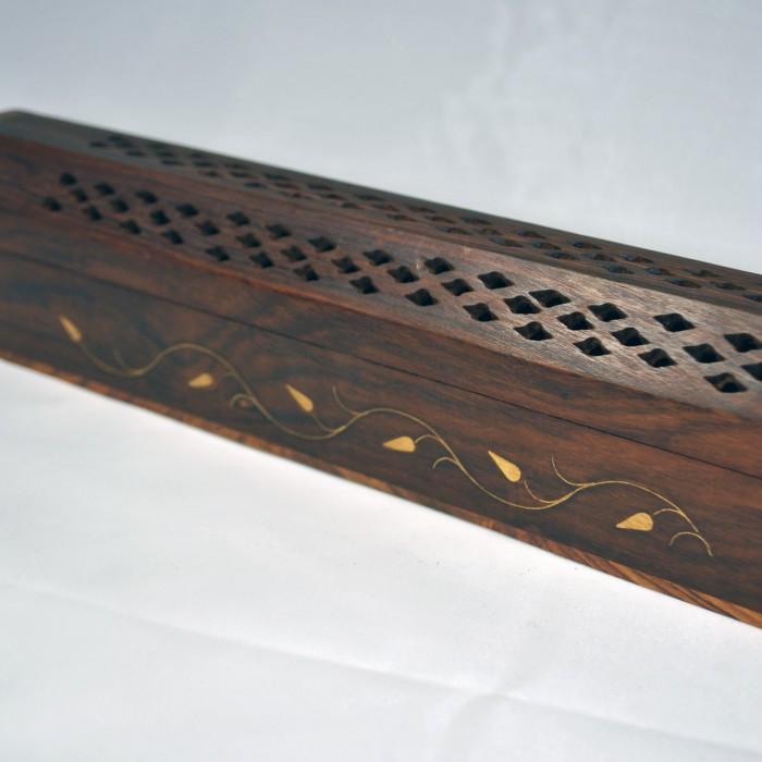 Portaincenso Porta incenso legno scatola per Cone ...