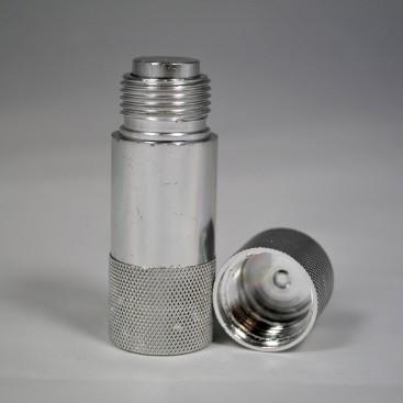 nur Kastenteil 10x Reissverschluss reparatur set größe10 Farbe Silber