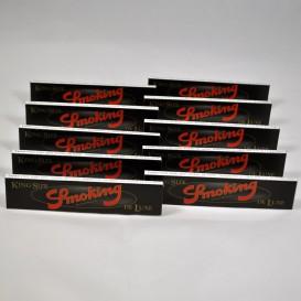 10 Pakete Blätter Rauchen Deluxe Slim