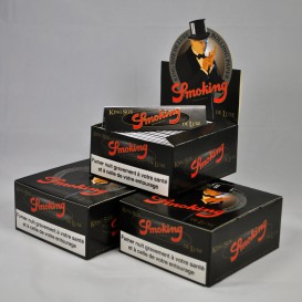 150 paquets feuilles Smoking Deluxe Slim (3 boites)