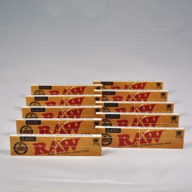 10 paquets feuilles RAW Slim