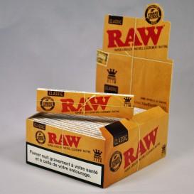 50 pakketten van bladrol RAW Slim