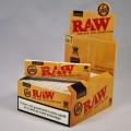50 paquets feuilles RAW Slim (1 boite)