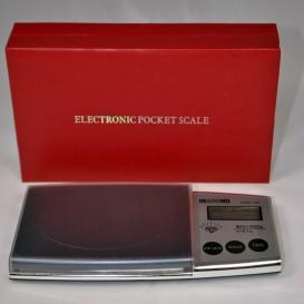 Balanza de bolsillo de 0,1 g a 500 g diamante + caja de regalo