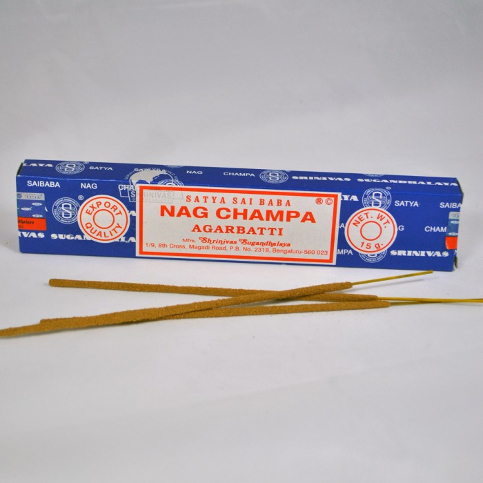 Satya Sai Baba Wierook.Nag Champa Wierook Satya Sai Baba Batonnet