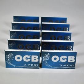 10 paquets feuilles OCB X-PERT Regular (courte)
