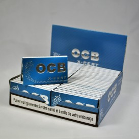 Doos van 50 folie pakketjes naar OCB X-PERT roll