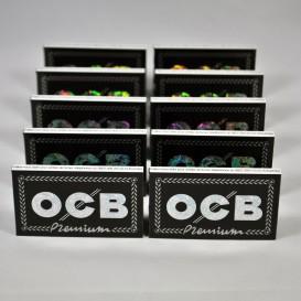 10 confezioni di foglia roll OCB Double Premium (piccolo)