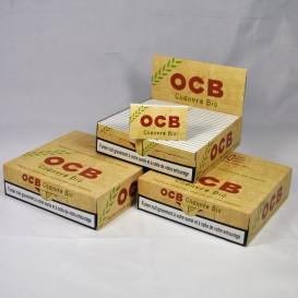 paquetes de 150 hojas balanceo OCB cáñamo Bio (3boites)