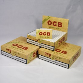 150 pacchetti Bio Double Hemp OCB (3 scatole)