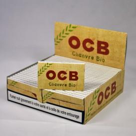 50 pakketten van bladrol OCB HENNEP BIO