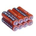 4 baterías de solución salina