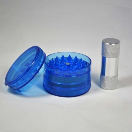 Acrylic Grinder Polinator 60mm and Press