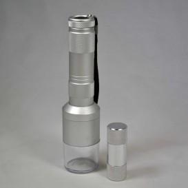 Molinillo electrico polinador y prensa.