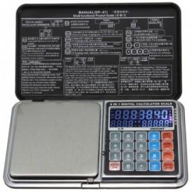 Evenwicht rekenmachine 0.1 / 500g