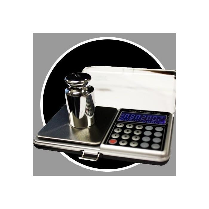 Bilancia calcolatrice professionale 0 1 g un 500 g della tasca for Calcolatore del prezzo della costruzione domestica