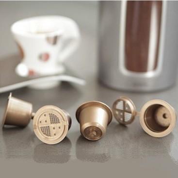 capsule compatibili nespresso coffeeduck sacco di riutilizzabile 3 capsule. Black Bedroom Furniture Sets. Home Design Ideas