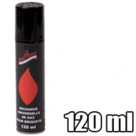 Recharge gas 120ml lighter