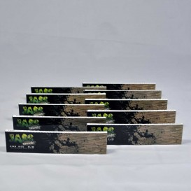 10 Pakketten bladeren Jass Brown Slim