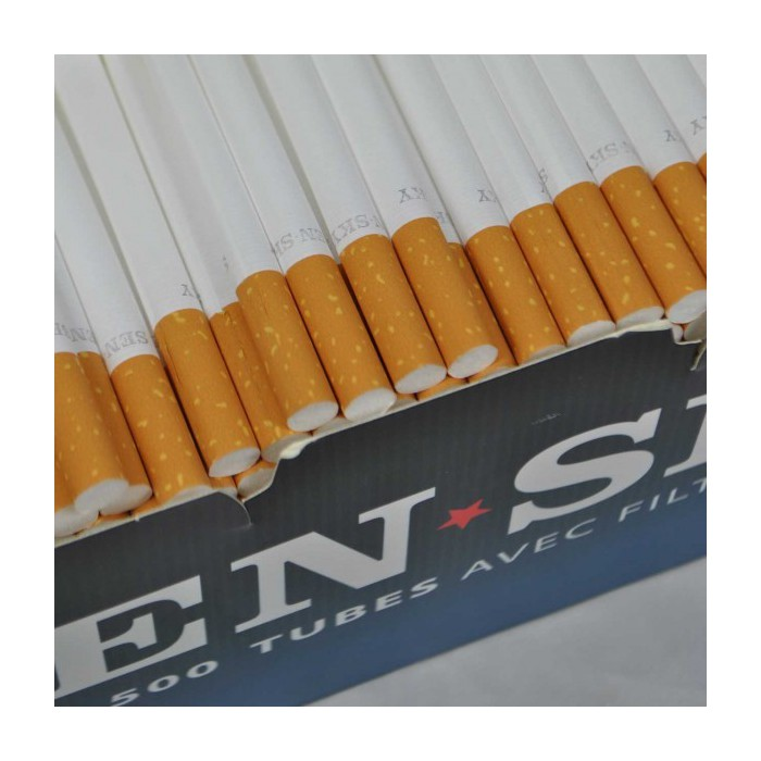 tube cigarette sensky boite de 100 tubes cigarettes pas cher 72h. Black Bedroom Furniture Sets. Home Design Ideas