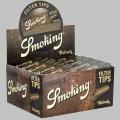 50 paquetes de filtro marrón para fumar