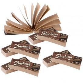 10 pacotes de filtros fumar Brown
