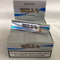 paquetes de 50 hojas Rizla micrones delgado