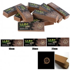 10 paquets filtres Jass Tips Brown
