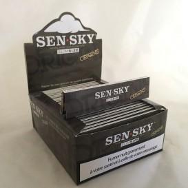 50 pacchetti lascia Sensky marrone Slim