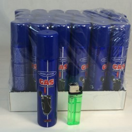 Recharge gaz 100ml Silver Match