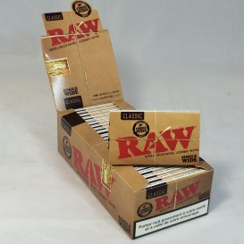 25 pacotes Raw Regular