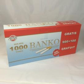 1000 tubos Banko