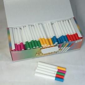 200 tubes filtres colorés Rollo