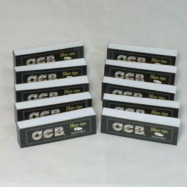 10 pacotes de 50 filtros OCB papelão