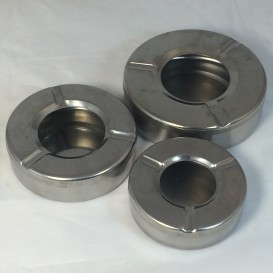 Ashtray round metal