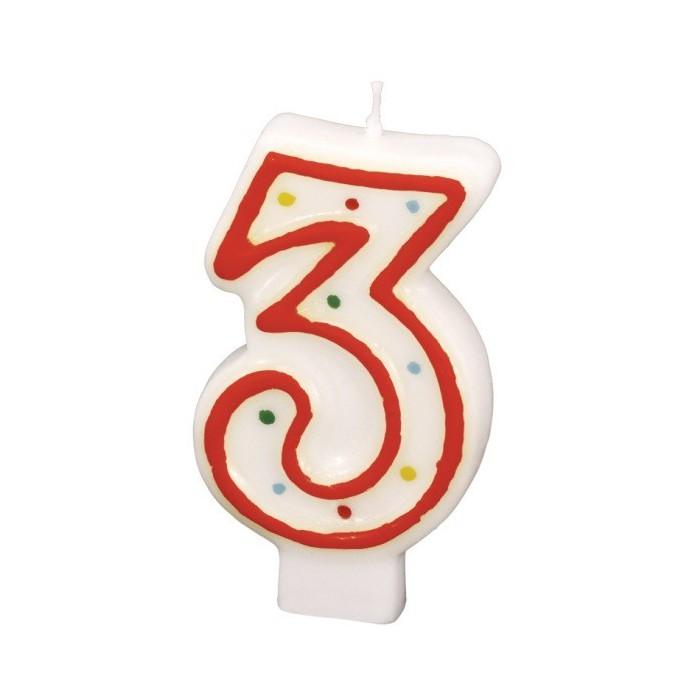 31 x Geburtstagskerzen Zahlen Kerzen Geburtstag Restposten Sonderposten