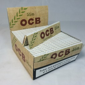 50 Organic Hemp OCB Slim Packs
