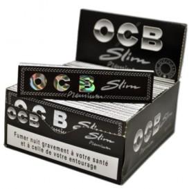 50 pacchetti di foglia di roll OCB Slim Premium