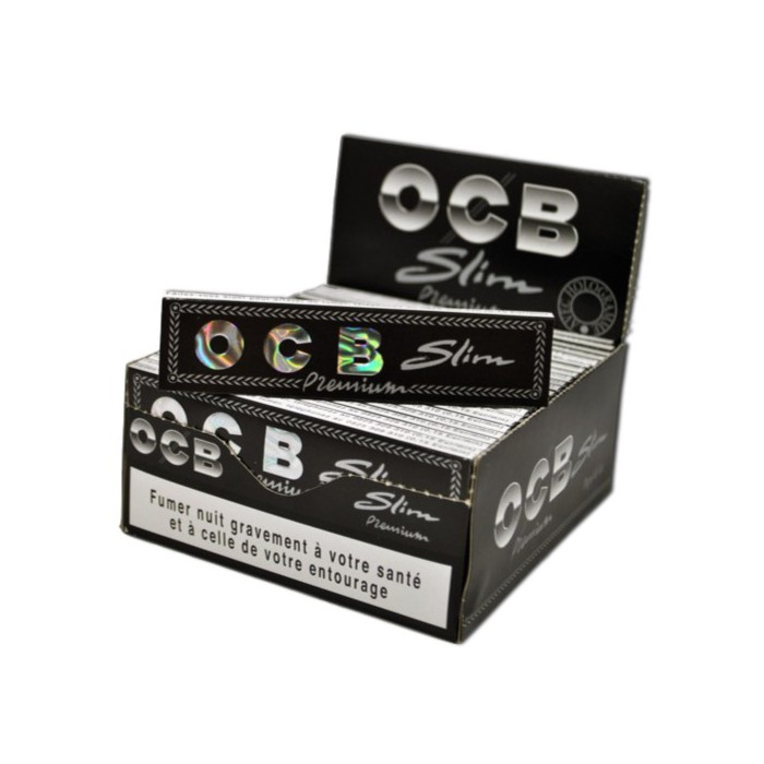 Carnet OCB SLIM Premium Boite de 50 Carnets de 32 Feuilles